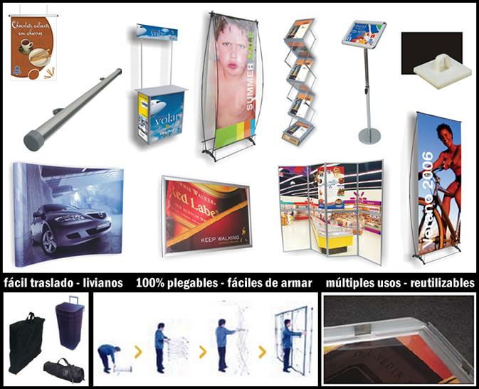 stand diseno materiales e insumos