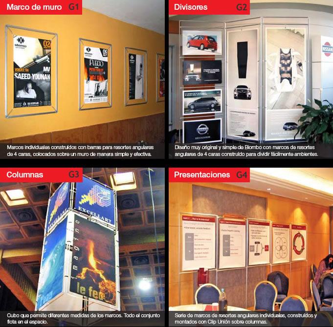 Galería de fotos de Soportes Publicitarios a medida de aluminio ...